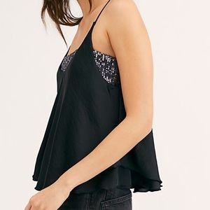 Free people turn it on sequin cami✨